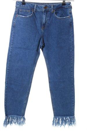 Bershka Slim Jeans blau Casual-Look