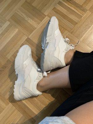 Bershka Sneaker alta bianco