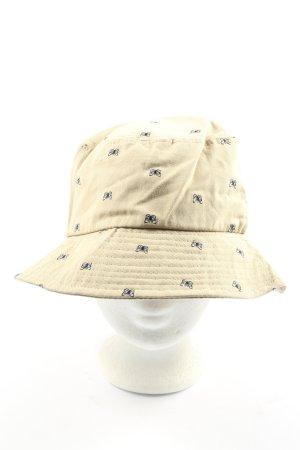 Bershka Sun Hat cream casual look
