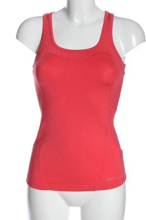 Bershka Canotta sportiva rosso stile semplice