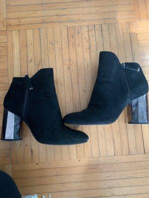 Bershka Winter Boots black