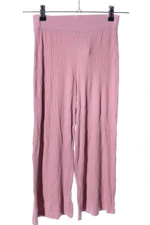 Bershka Stoffhose pink Casual-Look