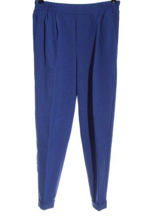 Bershka Jersey Pants blue casual look