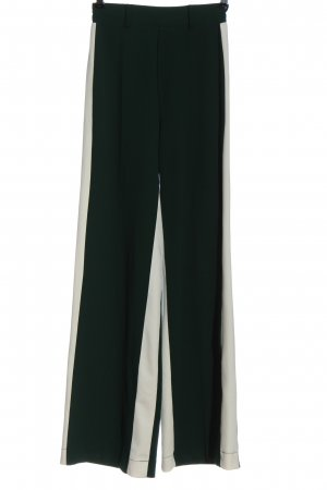 Bershka Stoffen broek bruin-wit casual uitstraling