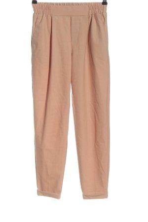 Bershka Stoffen broek roze casual uitstraling