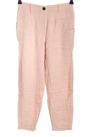 Bershka Stoffhose pink Streifenmuster Casual-Look