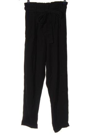 Bershka Pantalone jersey nero stile casual