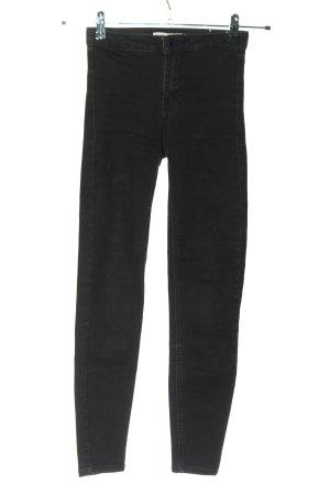 Bershka Jeans stretch noir style décontracté