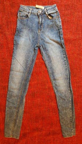 Bershka Jeans a sigaretta multicolore