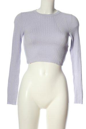 Bershka Pull tricoté bleu style décontracté