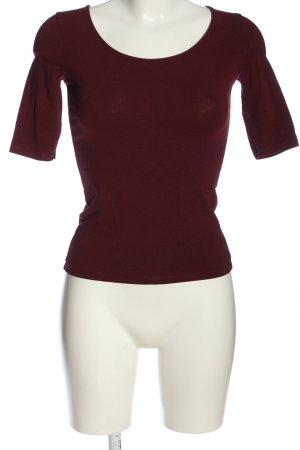 Bershka Strickshirt rot Casual-Look