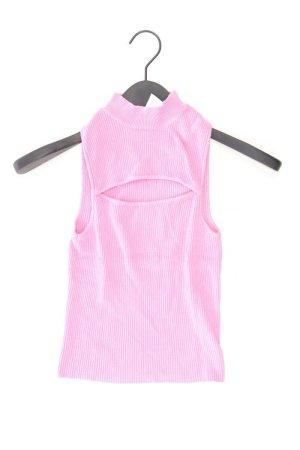 Bershka Gebreide top lichtroze-roze-roze-neonroos