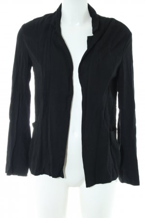 Bershka Sweatblazer schwarz Casual-Look