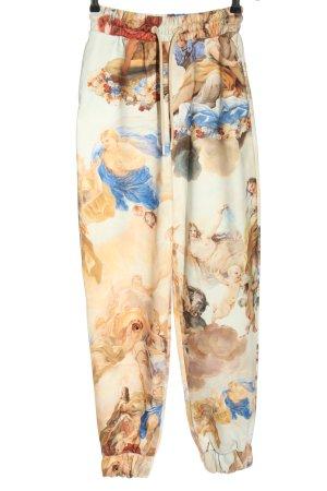 Bershka Pantalone fitness stampa integrale stile casual