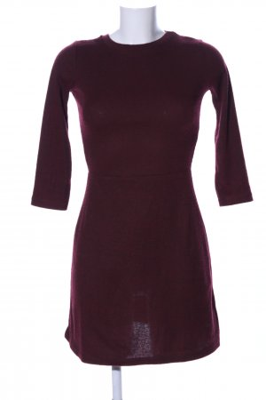 Bershka Sweatkleid rot Business-Look