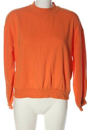 Bershka Sweatshirt rot Casual-Look