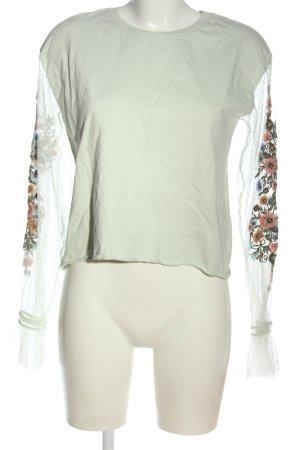 Bershka Sweatshirt mehrfarbig Casual-Look
