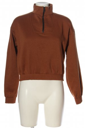 Bershka Sweatshirt braun Casual-Look
