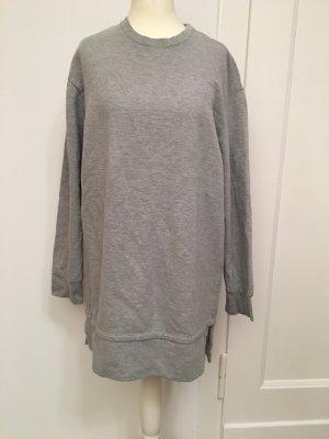 Bershka Sweatshirt Pullover Grau S