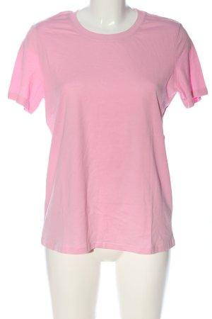 Bershka T-Shirt pink Casual-Look