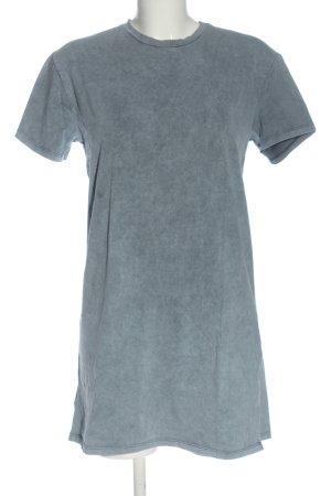 Bershka T-Shirt hellgrau Casual-Look