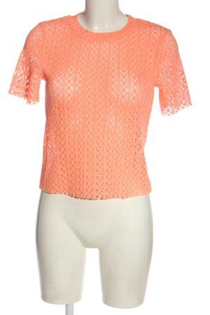 Bershka T-Shirt light orange casual look