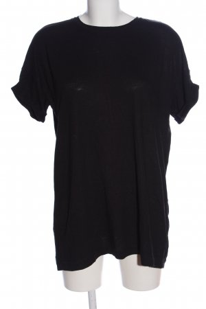 Bershka T-Shirt schwarz Casual-Look