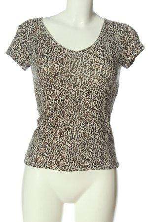 Bershka T-Shirt Allover-Druck Casual-Look