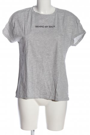 Bershka T-Shirt meliert Casual-Look