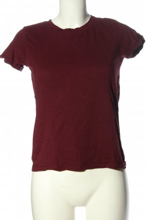 Bershka T-Shirt rot Casual-Look