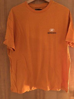 Bershka T-shirt orange