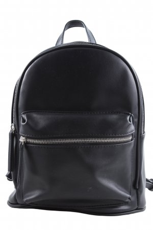 Bershka Plecak czarny W stylu casual