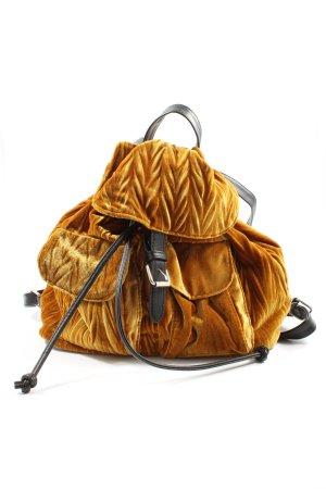 Bershka Daypack light orange allover print casual look