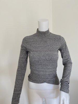 Bershka Turtleneck Shirt grey