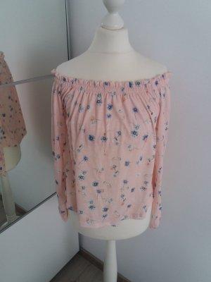 Bershka Blouse Top pink