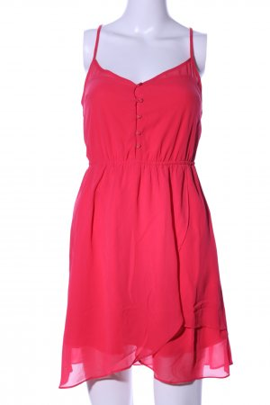 Bershka Trägerkleid rot Elegant