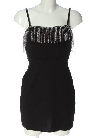 Bershka Trägerkleid schwarz Elegant