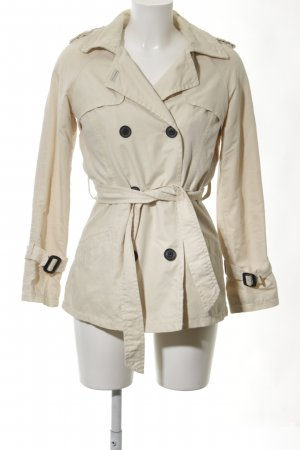 Bershka Trenchcoat creme Business-Look