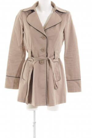 Bershka Trenchcoat nude Business-Look