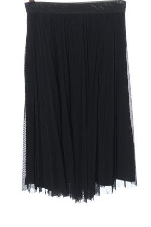 Bershka Jupe en tulle noir style décontracté