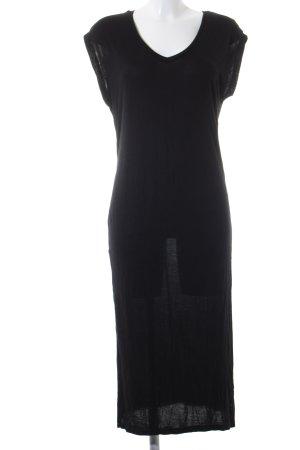 Bershka Tunikakleid schwarz schlichter Stil
