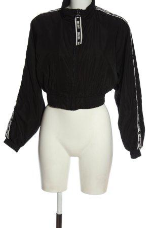 Bershka Übergangsjacke schwarz Casual-Look