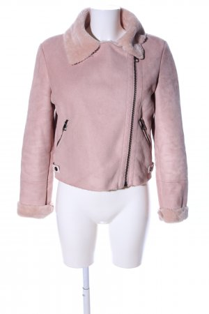 Bershka Übergangsjacke pink Casual-Look
