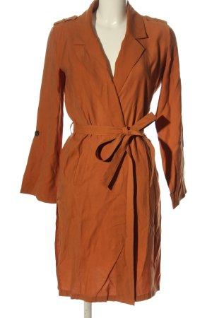 Bershka Cappotto mezza stagione arancione chiaro stile casual