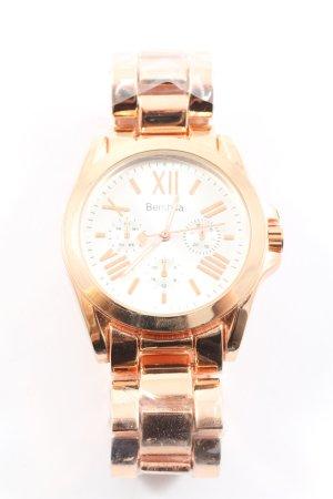 Bershka Reloj con pulsera metálica color oro estilo «business»
