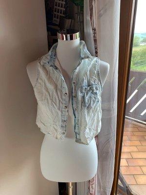 Bershka Smanicato jeans azzurro-azzurro