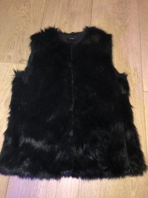 NoName Smanicato di pelliccia nero