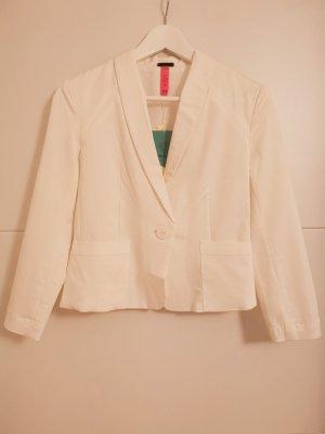 Bershka white suit size M new