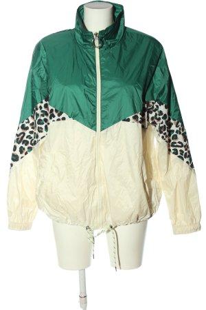 Bershka Windbreaker leopard pattern casual look