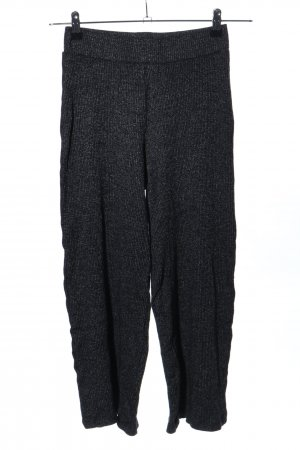 Bershka Woolen Trousers black casual look